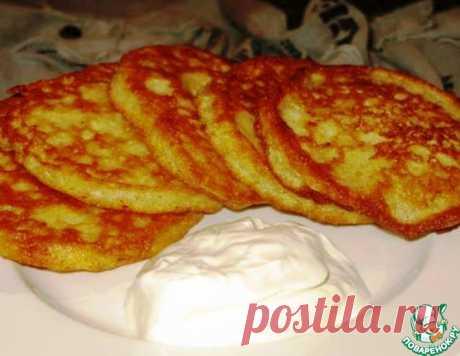 Манно-овсяные блинчики – кулинарный рецепт