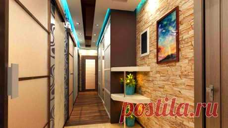 Узкий — не значит неудобный: стильные идеи для узкого коридора - Women Beauty Club Внутри узкого коридора особо не разгуляешься: места мало, вокруг узко, но хотя...