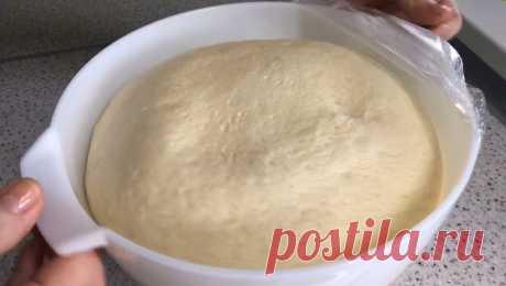 Воздушное постное тесто: изумительный рецепт
