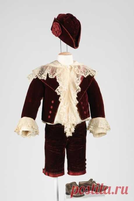 Одежда для мальчиков в XIX веке. Костюм маленького лорда Фаунтлероя.: la_gatta_ciara