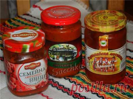 Лютеница - рецепт с фото на Саечка.ру
