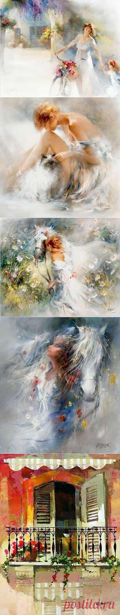 Willem Haenraets. Воздушная живопись | Usenkomaxim.ru