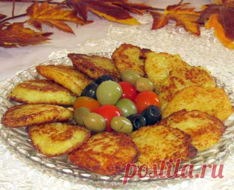 Картофельные оладьи (деруны, драники)