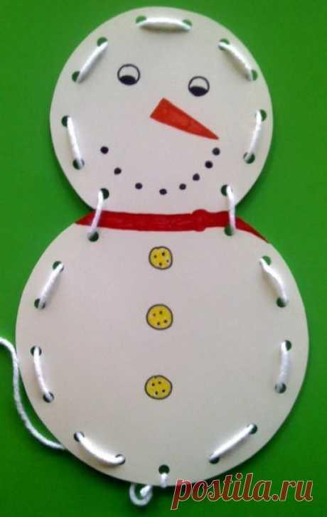 10 идей поделок снеговиков - Поделки с детьми | Деткиподелки