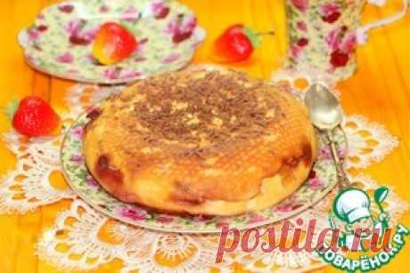 """El tostado-postre caseoso """"Апельсинка"""" - la receta de cocina"""