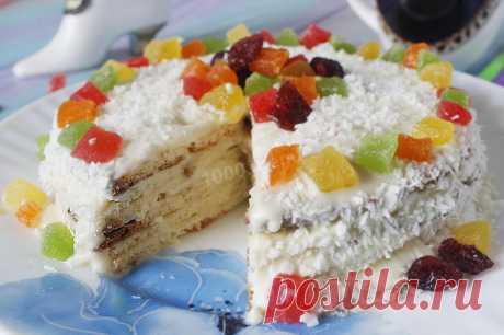 Творожно сметанный торт рецепт с фото пошагово - 1000.menu