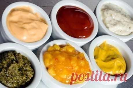 Вкусные соусы к разным блюдам
