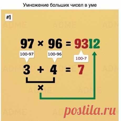 Считаете математику скучной? После этого поста Вы измените свое мнение!
