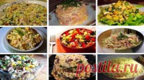 9 most tasty salads