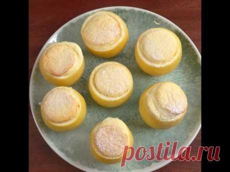 Невероятно вкусное «Лимонное Суфле». Удивите своих близких!