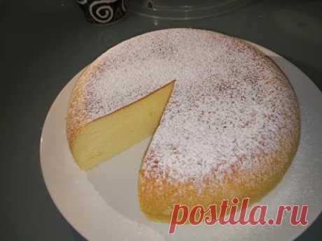 Фирменный японский пирог- чизкейк! В мультиварке приготовить его очень просто! Воспользуйтесь моим проверенным рецептом... Рецепт: яйца - 6 шт сливочный сыр ...
