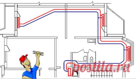 Тепло в доме: Некоторые нюансы применения двухтрубной тупиковой системы отопления