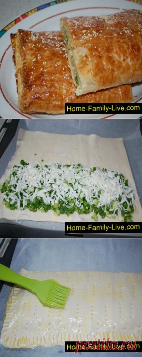 Луковый пирог/Сайт с пошаговыми рецептами с фото для тех кто любит готовить