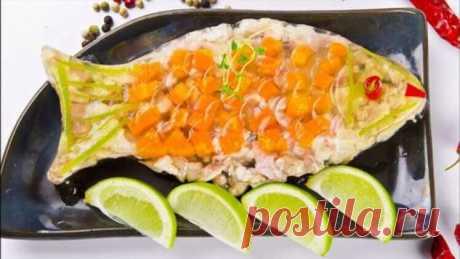 3 хороших рецепта заливной рыбы к Новому году | Офигенная