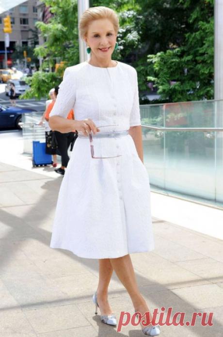 Белый летний гардероб: простые вещи для стильного образа женщины 55+ | Стиль вне размера | Яндекс Дзен