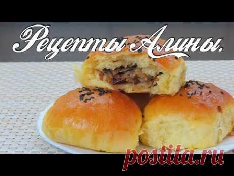 Самые вкусные и нежные пирожки с капустой в духовке. Рецепты Алины. - YouTube