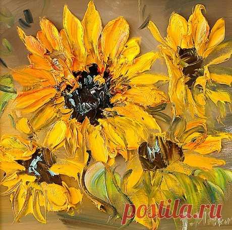 Sunflowers by Pavel Mitkov