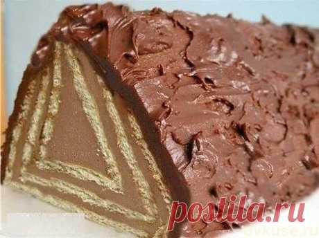 Торт без выпечки «Домик» - Простые рецепты Овкусе.ру