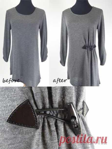 Как приталить вещь / Изменение размера одежды / ВТОРАЯ УЛИЦА