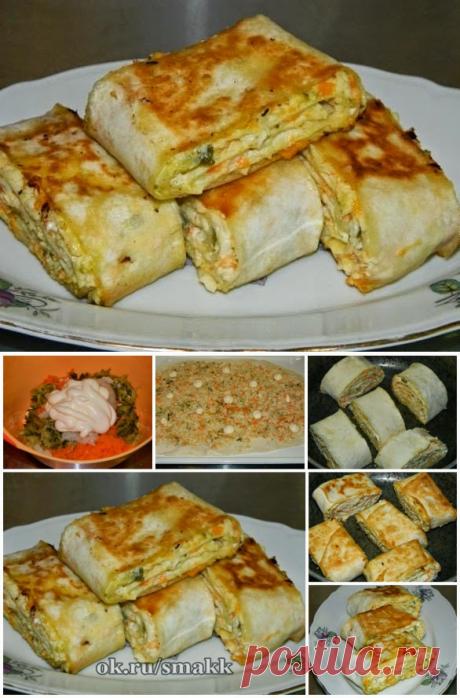 Лучшие кулинарные рецепты: Хрустящая закуска