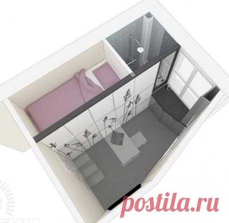 Самые маленькие квартиры: дизайн и функциональность интерьера RMNT.RU
