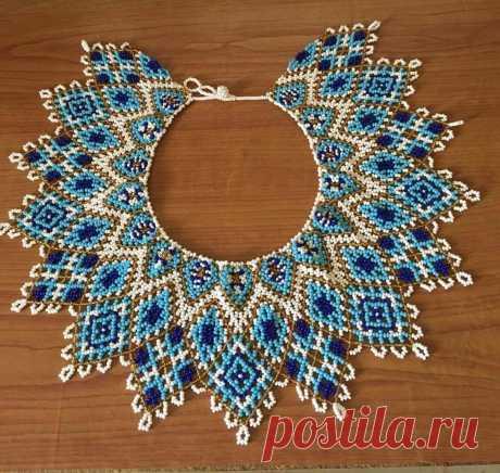 Роскошные ожерелья со схемами — DIYIdeas