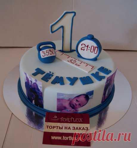 Детский торт на годик.Вес 4 кг.