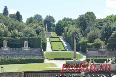 Сады Боболи (итал. Giardino di Boboli) - уникальный парк во Флоренции