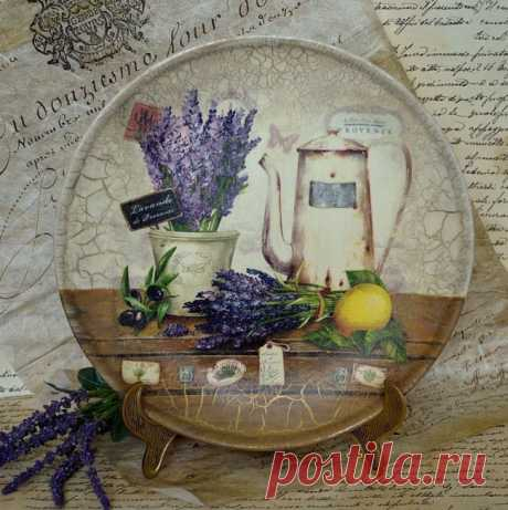 Декупаж тарелок: мастер-классы и вдохновляющие фото с идеями подарков