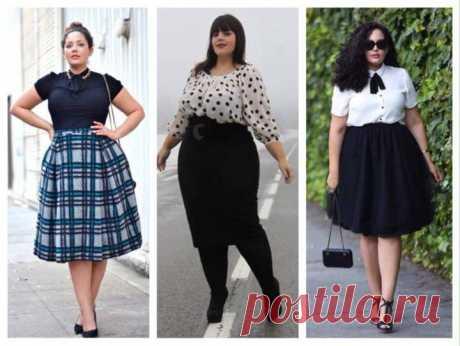Советы стилиста для полных невысоких женщин (62 фото)