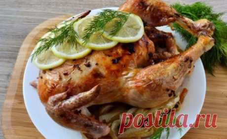 Жареный цыпленок Джулии Чайлд