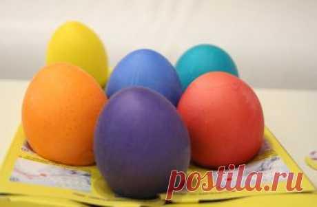Яйца на Пасху. Как красить? Как декорировать?