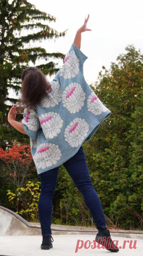 ISSUEw19 ** Большой цветок: Knitty.com - зима 2019
