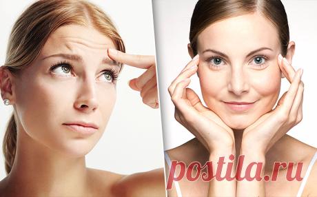 Массажные упражнения, которые помогут справиться с морщинками на лице