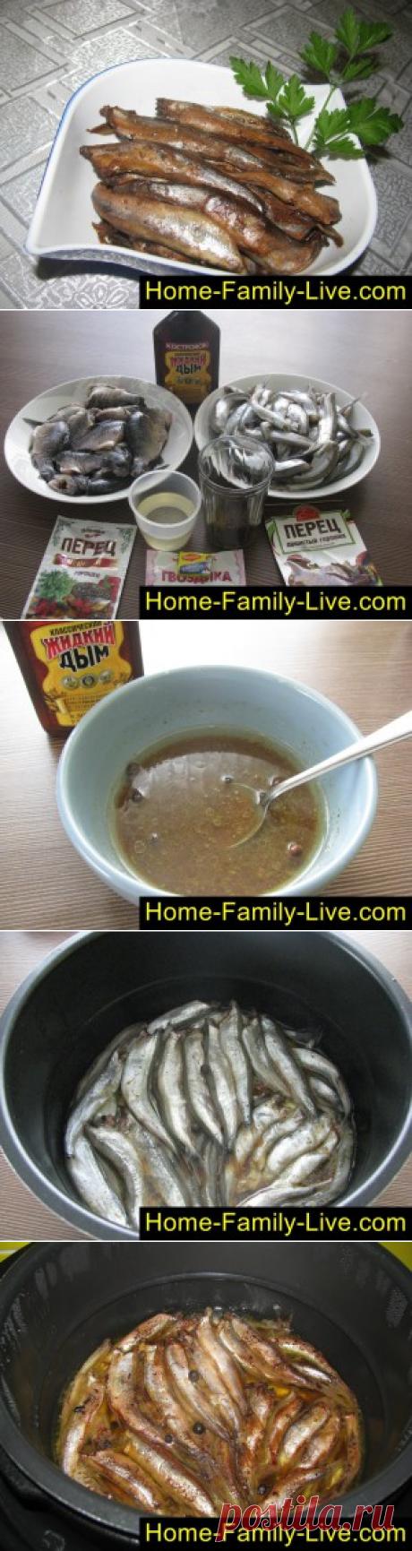 Шпроты в мультиварке/Сайт с пошаговыми рецептами с фото для тех кто любит готовить