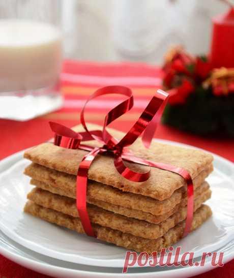 Вкуснейшие домашние хрустящие крекеры с медом и корицей!