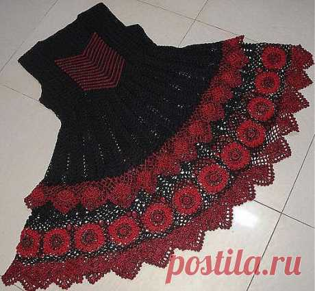 Платье для Карменситы (крючком)