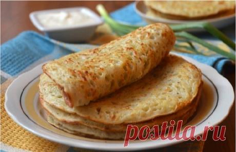 """Useful breakfast: potato pancakes \""""The Roman vacation\"""""""