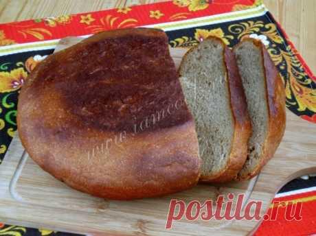 Ржаной хлеб на дрожжах и солоде в мультиварке — рецепт с фото пошагово