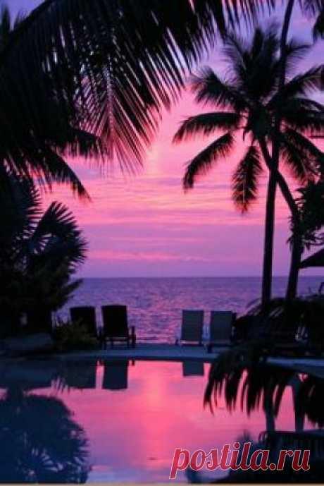 Море, оно просто неповторимо красивое, особенно вечером  #Закат #Море