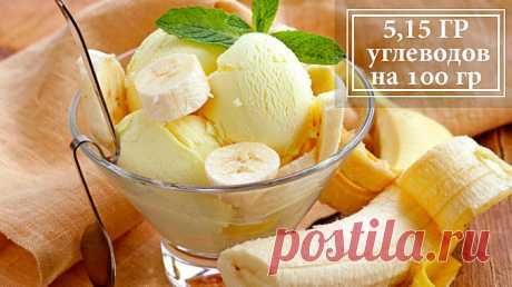 Низкоуглеводное творожно-банановое мороженое-парфе Да, мы продолжаем тему рецептов домашнего мороженого. А почему? Да потому что этот десерт своровал сердца миллионов, а сахара этому не всегда рады. Представляем рецепт плотного сливочного мороженого с ванильно-банановым ароматом.
