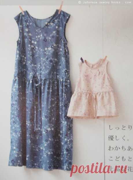 Выкройки женской и детской одежды Nani Iro / Простые выкройки /