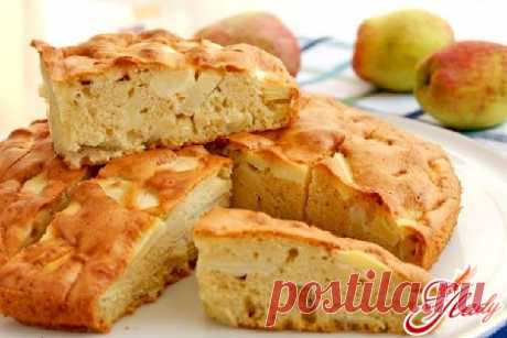 Яблочный пирог без яиц: шарлотка по-новому