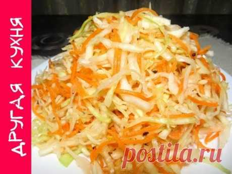 The most tasty sauerkraut with garlic and mix of pepper. Vitamins B square!