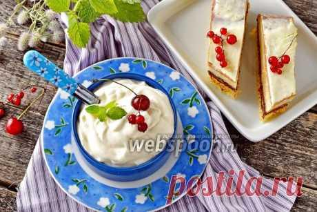 Крем из кефира и сметаны рецепт с фото, как приготовить на Webspoon.ru