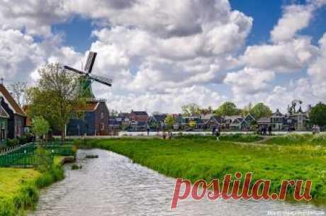 Голландская деревня Заансе Сханс: фото