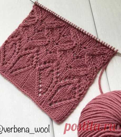 Очень красивый узор в ваши копилочки Связали бы?  #вязание #схемывязания #идеидлявязания #схемаузора #узорспицами #люблювязать #явяжу #кафевяжу #спицами #модельдлявязания #вязаниемояжизнь #вяжутнетолькобабушки #вяжусама #моделидлявязания #каксвязать #вяжемвместе #knitting #pattern #ажурныйузор