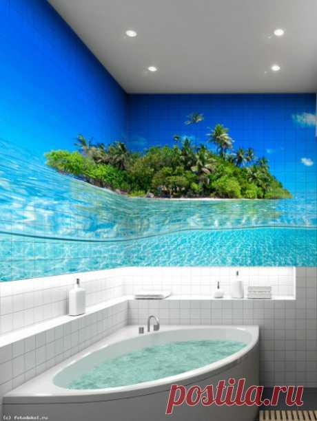 Новый тренд: керамическая плитка с 3D-эффектом — Мой дом