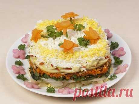 10 новых салатов к празднику. Подборка рецептов - выбирайте любой