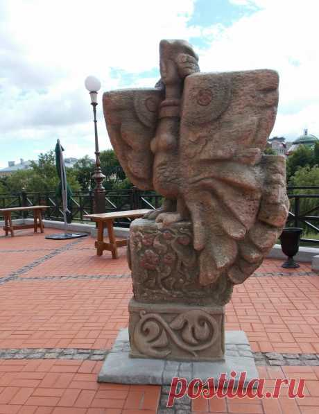Женщина-птица #Рязань